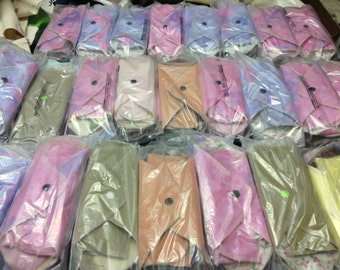 OPERATION SHOEBOX SETS - Set of 3 MamaBear LadyWear Quick-Dry cloth menstrual pads - Light/Medium Flow, Pantiliners