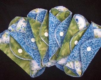 Set of 6 MamaBear LadyWear Quick-Dry menstrual pad, pantiliner - Light/Medium Flow