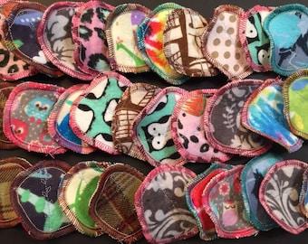 LIMITED TIME SALE: 100 MamaBear Cotton Rounds, Reusable Cotton Balls, Facial Rounds