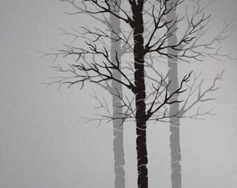 tree stencils etsy