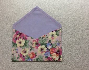 Reusable Fabric Gift Card Holders