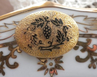 1920's Gold Filled Oval Pin