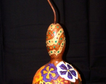Pansy Gourd Shaker