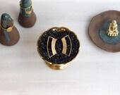 Dangle Earrings | Tiny Textured Jewelry | Handmade Earrings | Everyday Jewelry | Bridal Earrings | Statement Earrings | Gold Plated Earrings