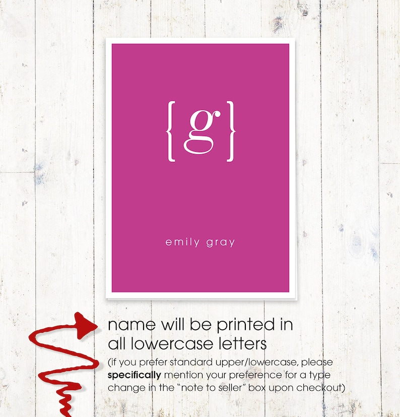personalized stationery set note cards personalized stationary set of 8 folded cards your NAME your INITIAL MONOGRAM