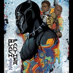 Fabric Springs Black Panther Wakanda Panel characters cast