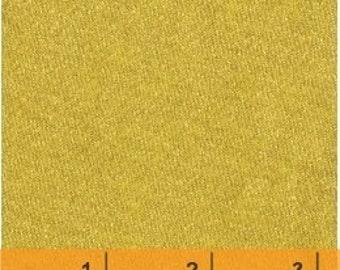 Fabric Windham Fabrics -38934M-1 Solid Gold Metallic on 100% quilting cotton fabric