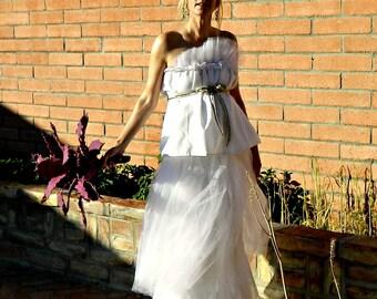 492457bd019da Maternity Long Tulle Skirt-Tulle Skirt-Tulle Wedding Skirt-Tulle Wedding  Dress-Toulous Tissue Linen Layered Tulle Pregnant Bride Chic Maxi
