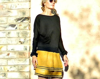 Circle Skirt-Midi Skirt-Full Circle Skirt-Full Skirt-Womens Skirts-LaChicSew Womens Clothing-Easy to Wear-Ribbon Detail Valentina Skirt