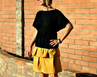 Circle Skirt-Midi Skirt-Full Circle Skirt-Full Skirt-Womens Skirts-LaChicSew Womens Clothing-Easy to Wear-Valentina Skirt