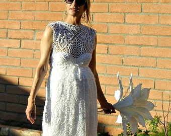 Maternity Crochet Lace Top-Lace Wedding Top-Bridal Top-Wedding Top-Bridal Separates-Crochet Lace Je Suis Top-Chic Modern Bride-Hand Couture