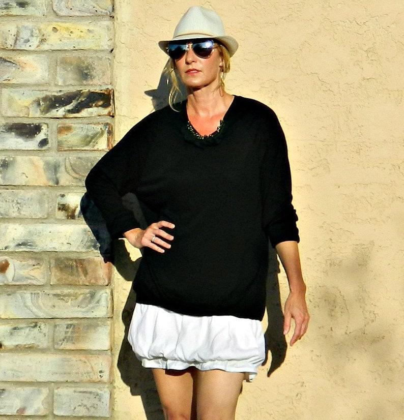 timeless design aac79 f2aa7 Weißer Rock-weiß Kleid-kurze Rock-Röcke-Mini Rock-Röcke für Frauen-Frauen  Kleidung-Gewebe Leinen Rüsche Bubble Style-weiß-schwarz