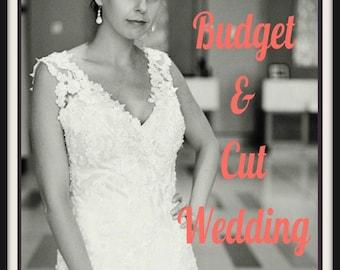 Wedding Bookshelf-Wedding Budget Book-Bride Book-The Simple Bride Book-How to Budget and Cut Wedding Costs