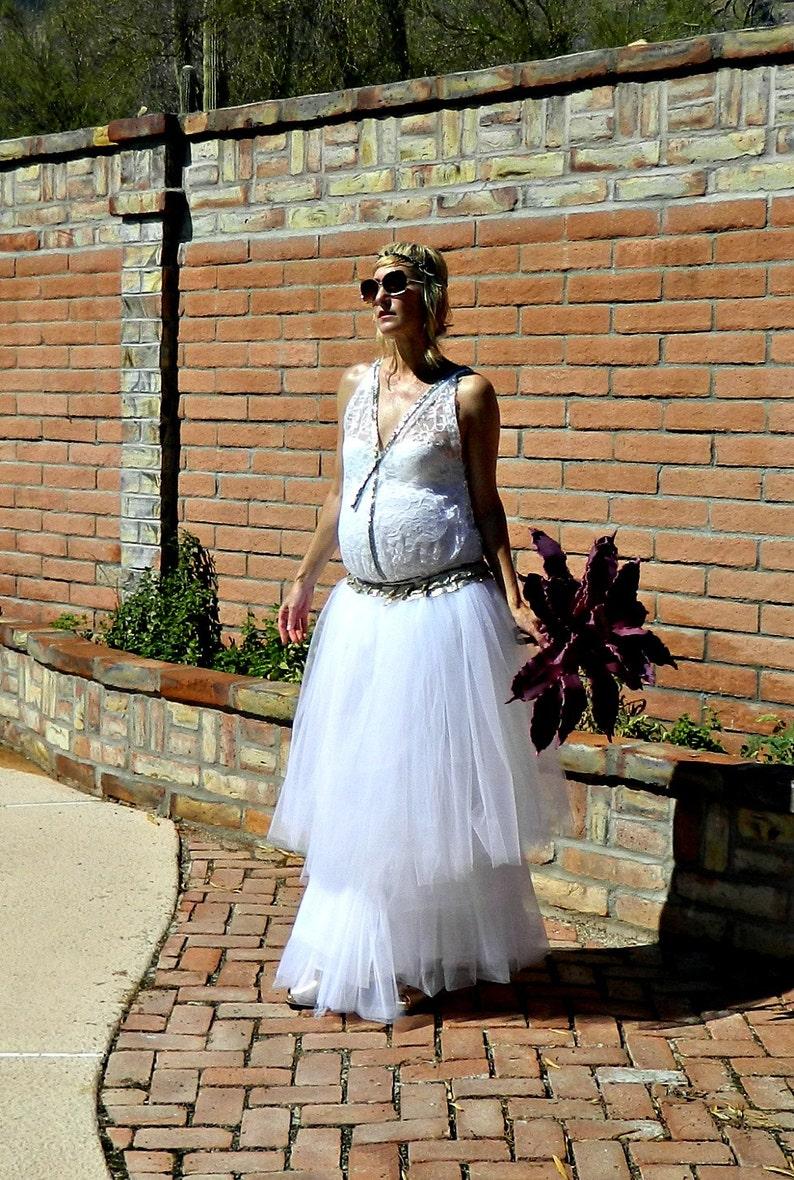 0b6ed90ccd806 Maternity Flapper Wedding Dress-20s Wedding Dress-30s Wedding | Etsy