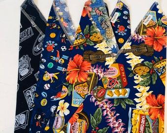 Blue  3 Pack  Bento Bags Produce Bags Lunch Sack Sushi  Hawaiian Food Tokyo
