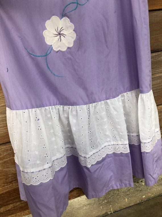 Lavender/ Hawaiian Muumuu/ Vintage Hawaiian/ Vinta