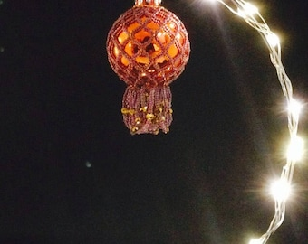 Orange ornaments