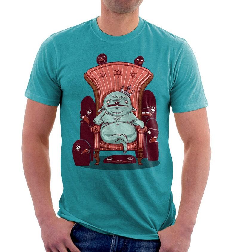 It's hard to be king  monster  Original Art  Surreal  image 0