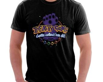 Infinity Gems Shirt  - Thanos Pokemon Shirt   T-shirt for Women Men   Movie Game T-shirt