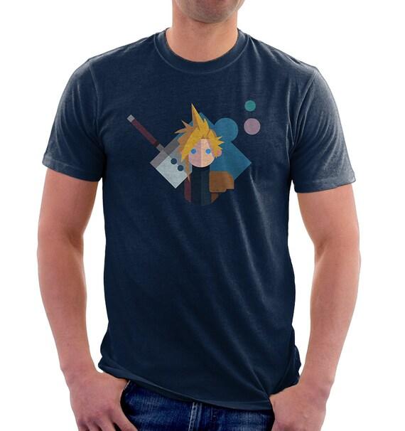 Tifa Final Fantasy VII Remake Lockhart Funny geek nerd Video Game Gift T-Shirt
