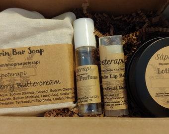 The Bath Gift Box Collection - Botanical Spa Set