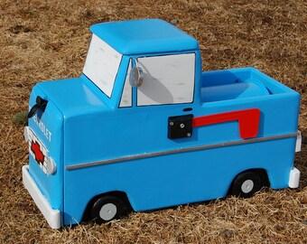1968  truck mailbox, truck mailbox old truck mailbox