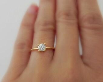 Fake Wedding Rings | Fake Engagement Ring Etsy