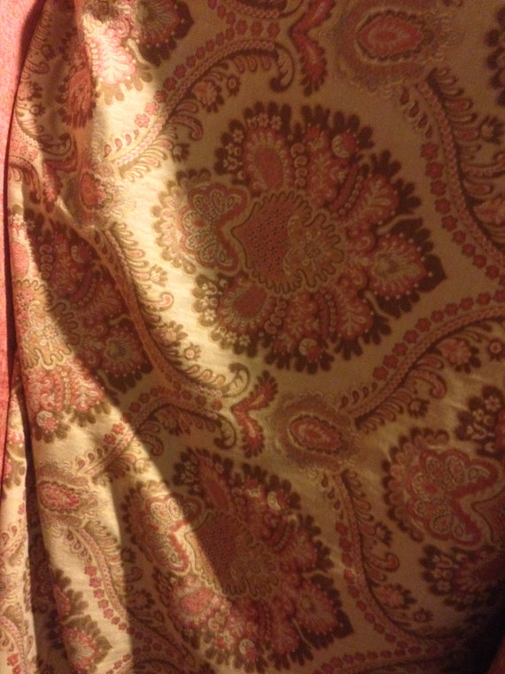 Sale Tapestry Chenille Upholstery Fabric By The Yard Etsy