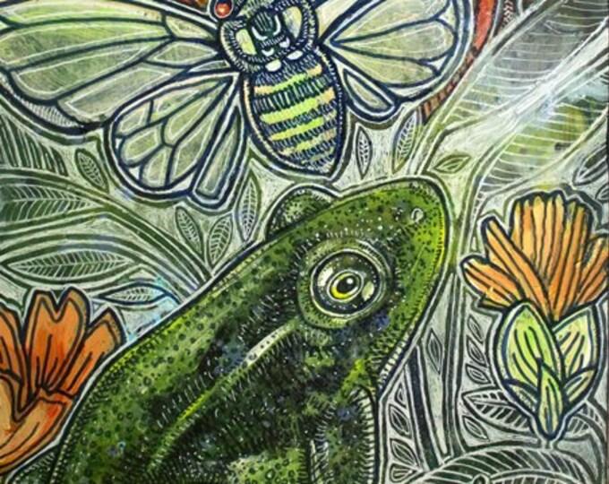 Summertide Wildlife / Animal Art Print by Lynnette Shelley