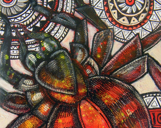Original Tarantula Spider Art by Lynnette Shelley