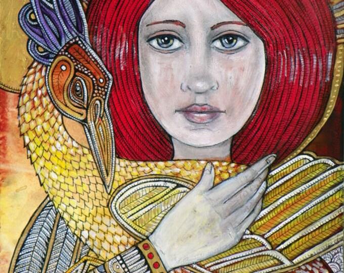 Gloriana Archival Art Print by Lynnette Shelley