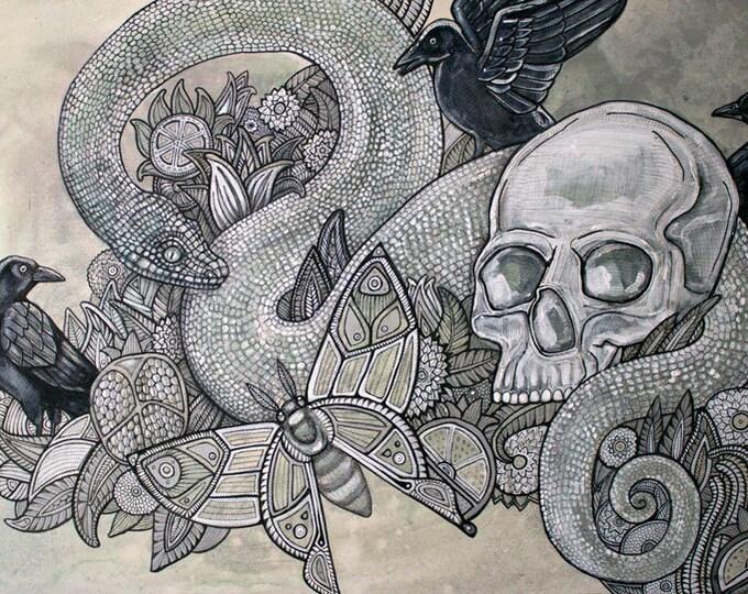 Memento Mori Art Print by Lynnette Shelley