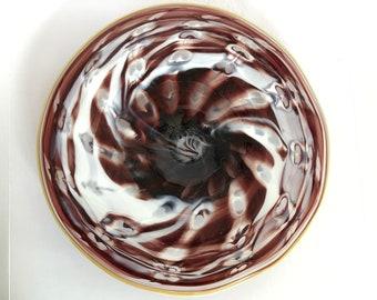 Wall Art Glass Blown Platter 2184