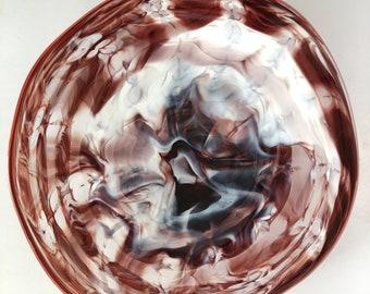 Wall Art Glass Blown Platter 2176