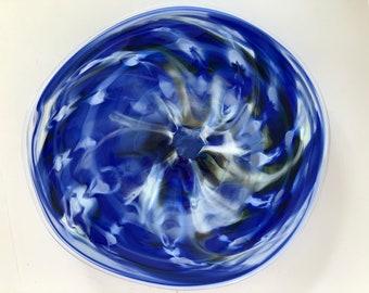Wall Art Glass Blown Platter 2182