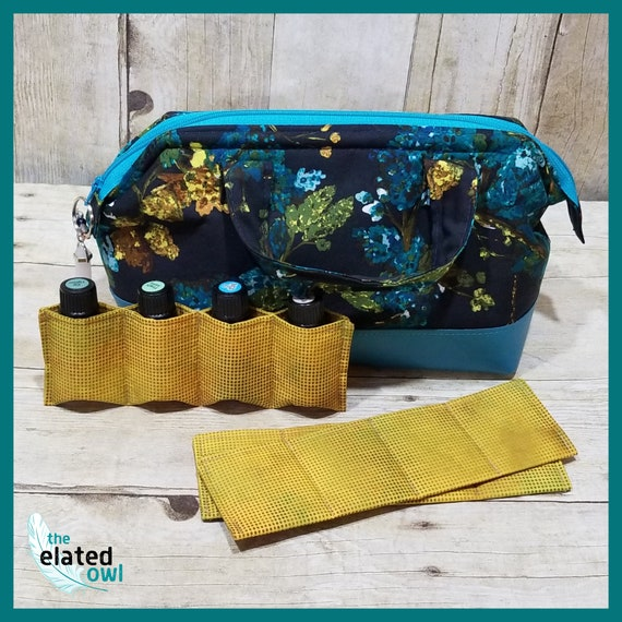 Essential Oil Bag with Metal Frame and Handles