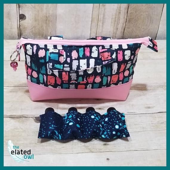 Essential Oil Bag, Essential Oil Storage, Make Up Bag, Cosmetic Bag, Storage Case, Zippered Pouch, Bottles, Travel Bag, Supply Bag, Makeup