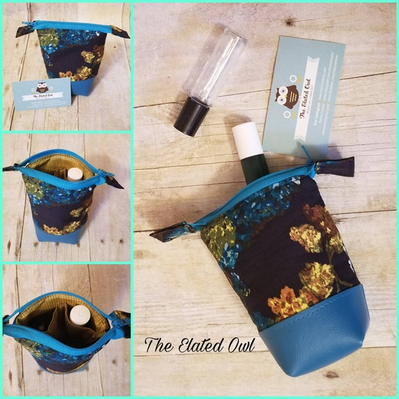 Small Essential Oil Case, Essential Oil Storage, Essential Oil Bottles, Essential Oil Travel Case, Storage Case, Zippered Pouch, Oil Roll