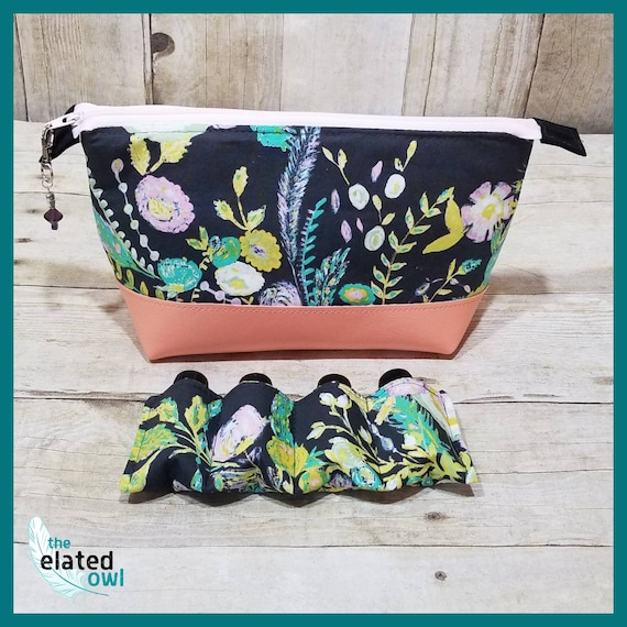 Aromatherapy Case, Aromatherapy Storage, Essential Oil Bag, Essential Oil Travel Case, Storage Case, Zippered Pouch, Roller Bottles,
