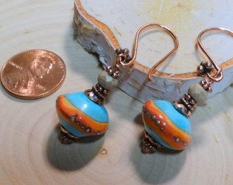 Desert Fire Earrings