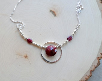 Red, Red Wine Necklace