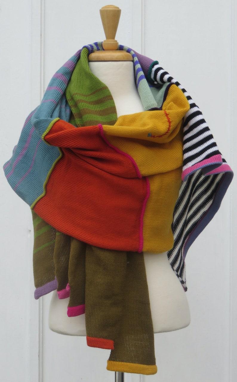 Muted Stripes SweaterWrap image 0