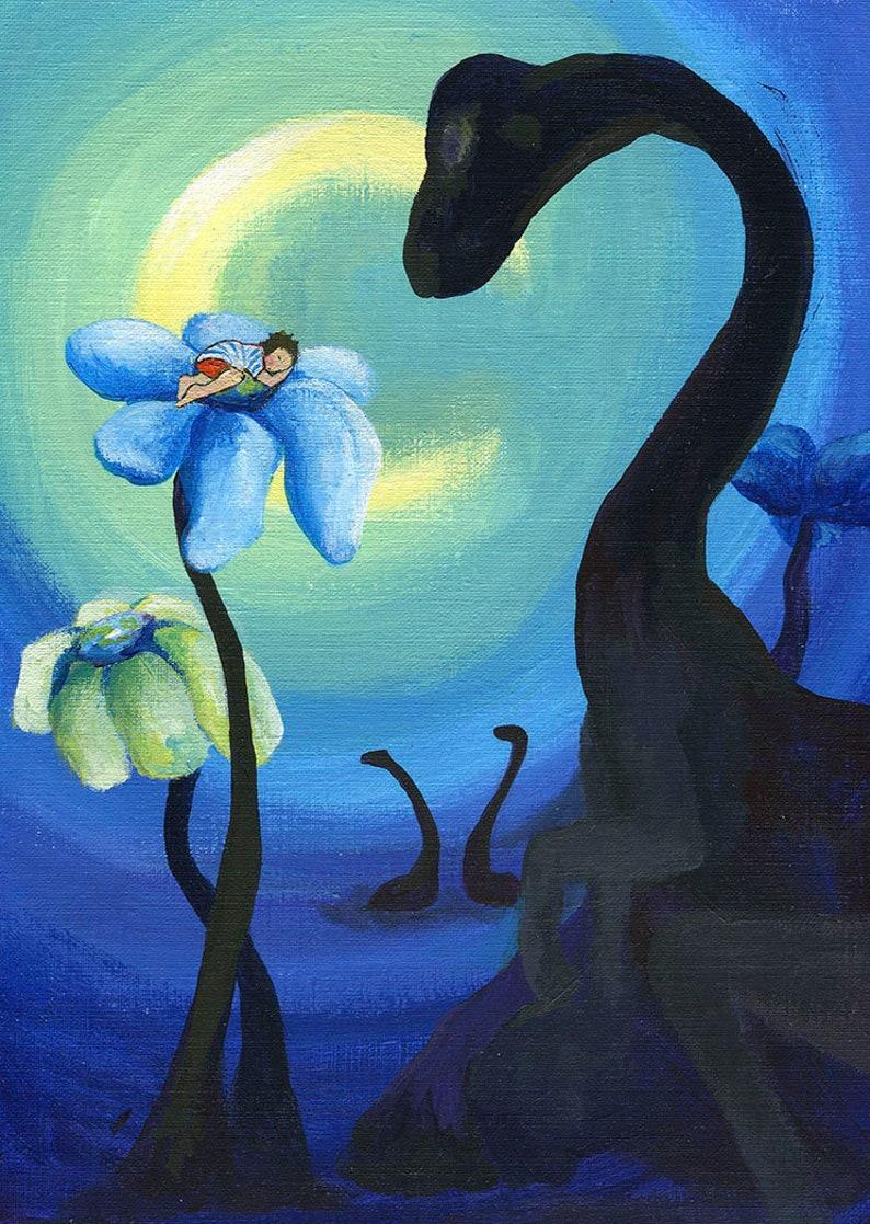 53c42c526e175 Sweet Dreams Print, Dinosaurs, Little Boy Room Art, Dino Print, Dinosaur  Decor, Little Boy Sleeping, Boys, Kids Room Wall Art