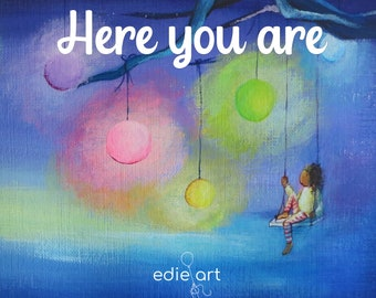 Here You Are, mindful books for kids, kid's poetry, meditation kids, kids books yoga
