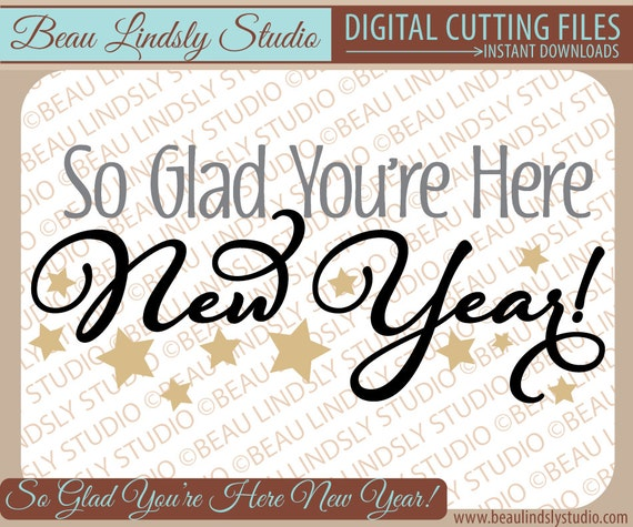 Happy New Year SVG File Happy New Year Clip Art Fun New Year Etsy Impressive Funny Happy New Years Eve Quotes