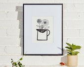 Tia Mowry x Etsy exclusive capsule collection - Jug of Roses Giclee Print