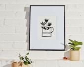 Tia Mowry x Etsy exclusive capsule collection - Jug of Crocus Giclee Print