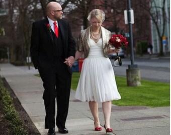 Flowy wedding dress   Etsy
