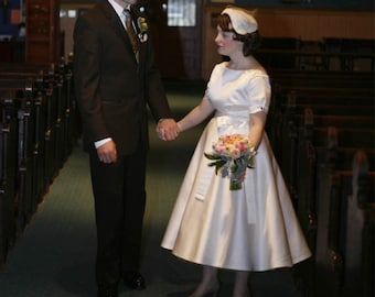 50 style wedding dress