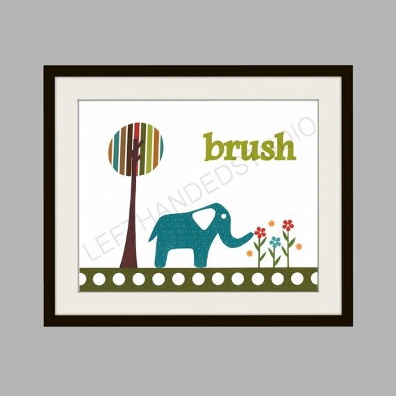 Target Circo Elephant Art Print Kids Room Decor